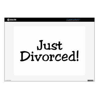 Just Divorsed.png Skin For Laptop