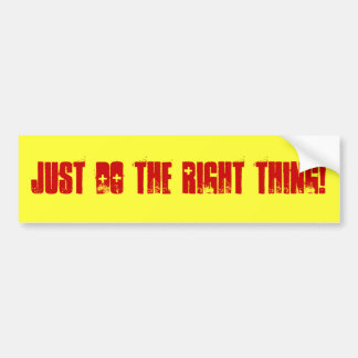 Just Do It Bumper Stickers