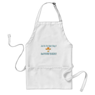 Just Do The Right THing Adult Apron