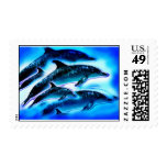 JUST DOLPHINS POSTAGE STAMP