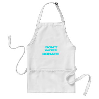 just donate.png adult apron