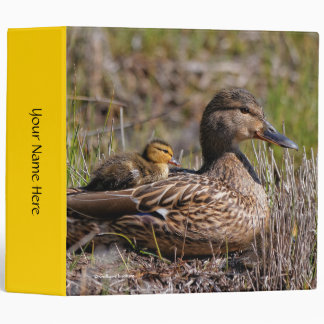 Just Ducky: A Mallard Mother and Baby Moment Binder