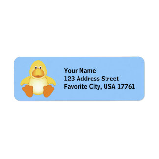 Just Ducky Address Labels