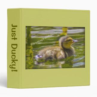 Just Ducky Binder
