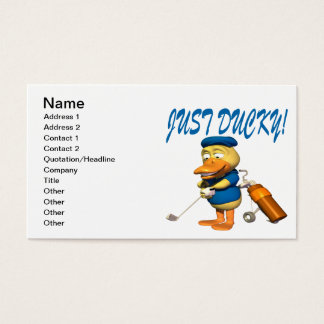 Just Ducky Business Card