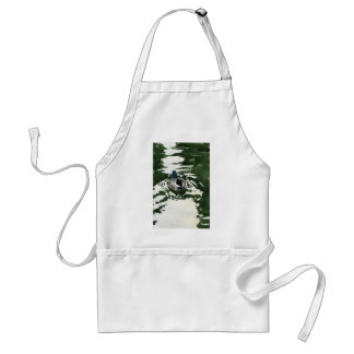 """""""Just Ducky"""" by Iain Stewart Adult Apron"""