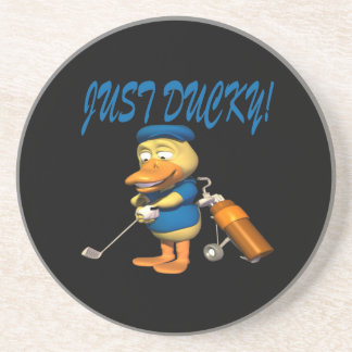 Just Ducky Beverage Coasters
