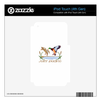 Just Ducky iPod Touch 4G Decal