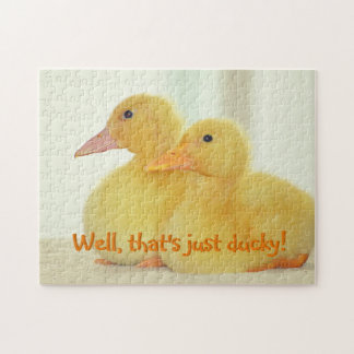 Just Ducky Jigsaw Puzzle