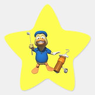 Just Ducky Star Sticker