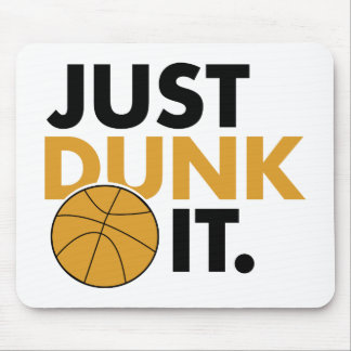 Just Dunk It Mouse Pad