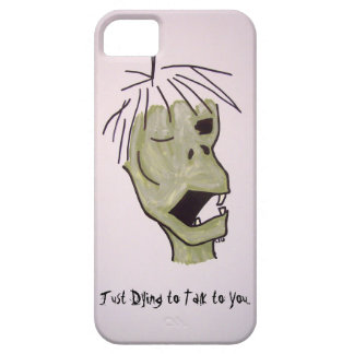 Just Dying to Talk to You Zombie Guy iPhone SE/5/5s Case