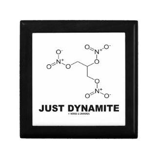 Just Dynamite (Nitroglycerin Chemical Molecule) Jewelry Boxes