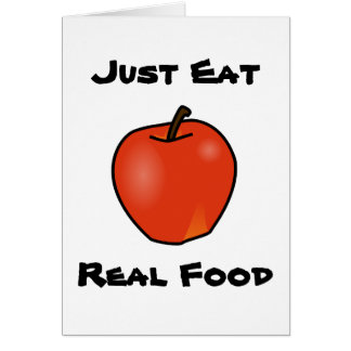 Just Eat Real Food Card