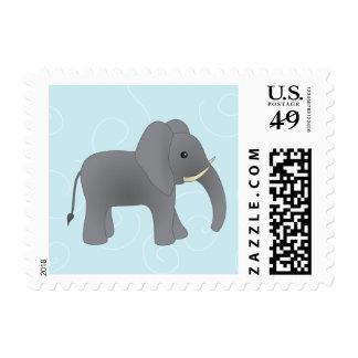 Just Elephant Postage Stamp