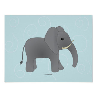 Just Elephant Poster
