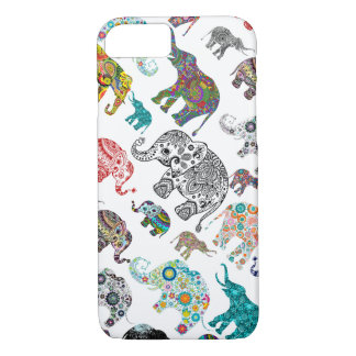 Just Elephant Random Pattern iPhone 7 Case