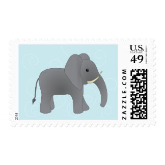 Just Elephant Stamps