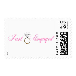 Just Engaged (Diamond Engagement Ring) Stamp