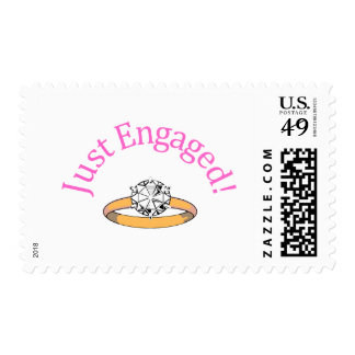 Just Engaged (Diamond) Postage