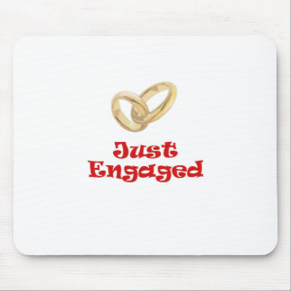 Just Engaged Mouse Pad