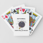 Just Eyeball Your Way To Success (Eye Anatomy) Poker Deck