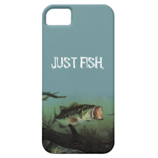 JUST FISH (LARGEMOUTH) iPhone SE/5/5s CASE