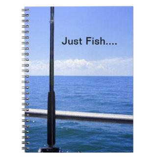 Just Fish Spiral Notebook