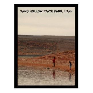 Just Fishin' Postcard