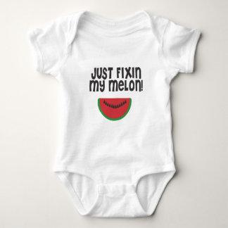 Just fixin my melon Boy Baby Bodysuit