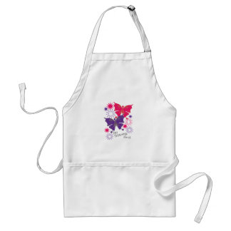 Just Fluttering About Apron