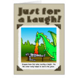 Just for a laugh -dragons card