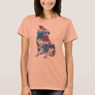 Just for Gina Art work by Baxter, Silhouette Shirt