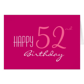 Just For Her At Any Age Birthday Card