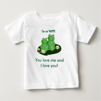 Just for Kids FROG FAMILY ... Baby T-Shirt