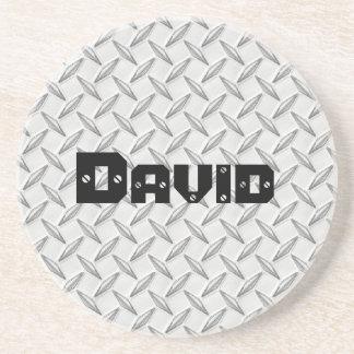 Just for Men Diamond Plate Coaster