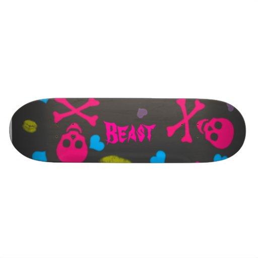 just-for-skull-lips, Beast Skate Decks