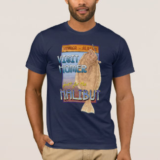 Just for the Halibut T-Shirt