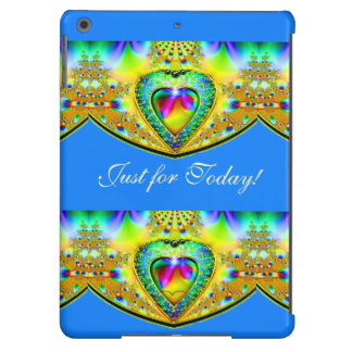 JUST FOR TODAY#2  JEWELED HEART iPad AIR COVER