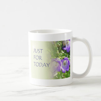 Just For Today Bell Flowers Coffee Mug