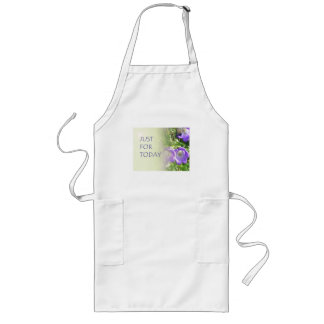 Just For Today Bell Flowers Long Apron