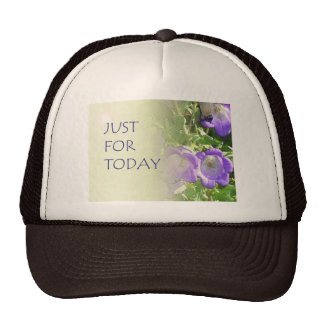 Just For Today Bell Flowers Trucker Hat