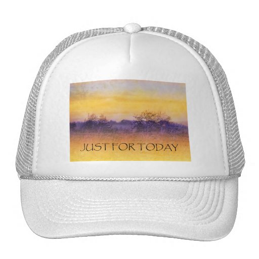 Just for Today Field Trucker Hats