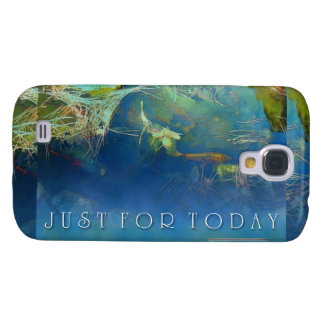 Just for Today Koi Pond Galaxy S4 Cover