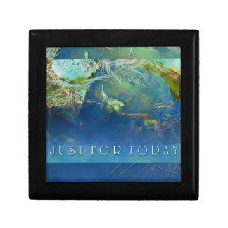 Just for Today Koi Pond Keepsake Box