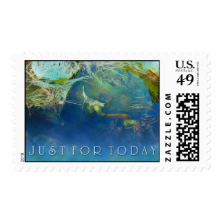 Just for Today Koi Pond Postage