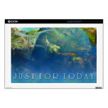 """Just for Today Koi Pond Skins For 17"""" Laptops"""