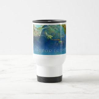 Just For Today Koi Pond Travel Mug