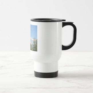 Just For Today Landscape 15 Oz Stainless Steel Travel Mug
