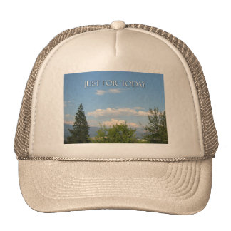 Just For Today Landscape Trucker Hat